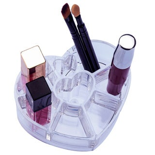 Heart Shape Cosmetic Organizer