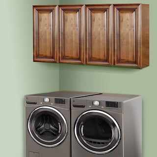Sedona Chestnut 60-inch Laundry Room Cabinet Set