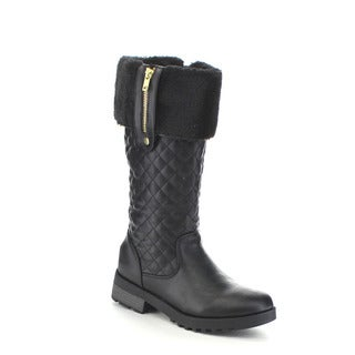 Beston GA76 Women's Mid Calf Quilted Deco Snow Boots