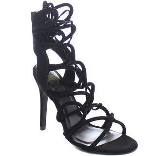 Beston CB61 Women's Stiletto Lace Up Gladiator Heels
