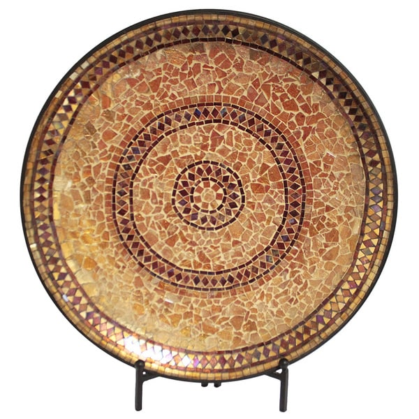 Shop Casa Cortes Handcrafted Gold Mosaic Decorative