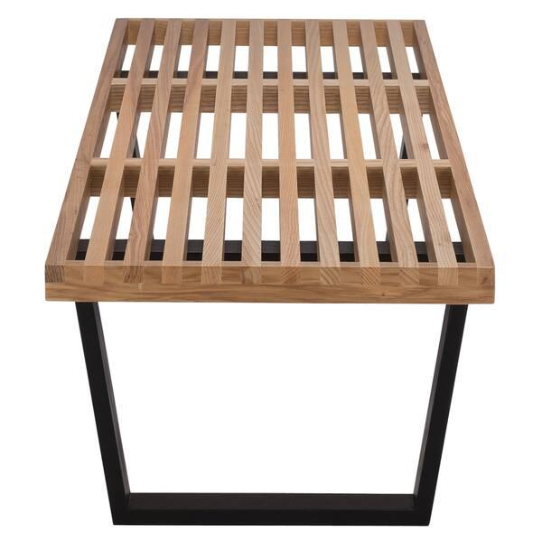 Pleasant Shop Carbon Loft Kenyon Brown Black Ash Wood And Metal 5 Ncnpc Chair Design For Home Ncnpcorg