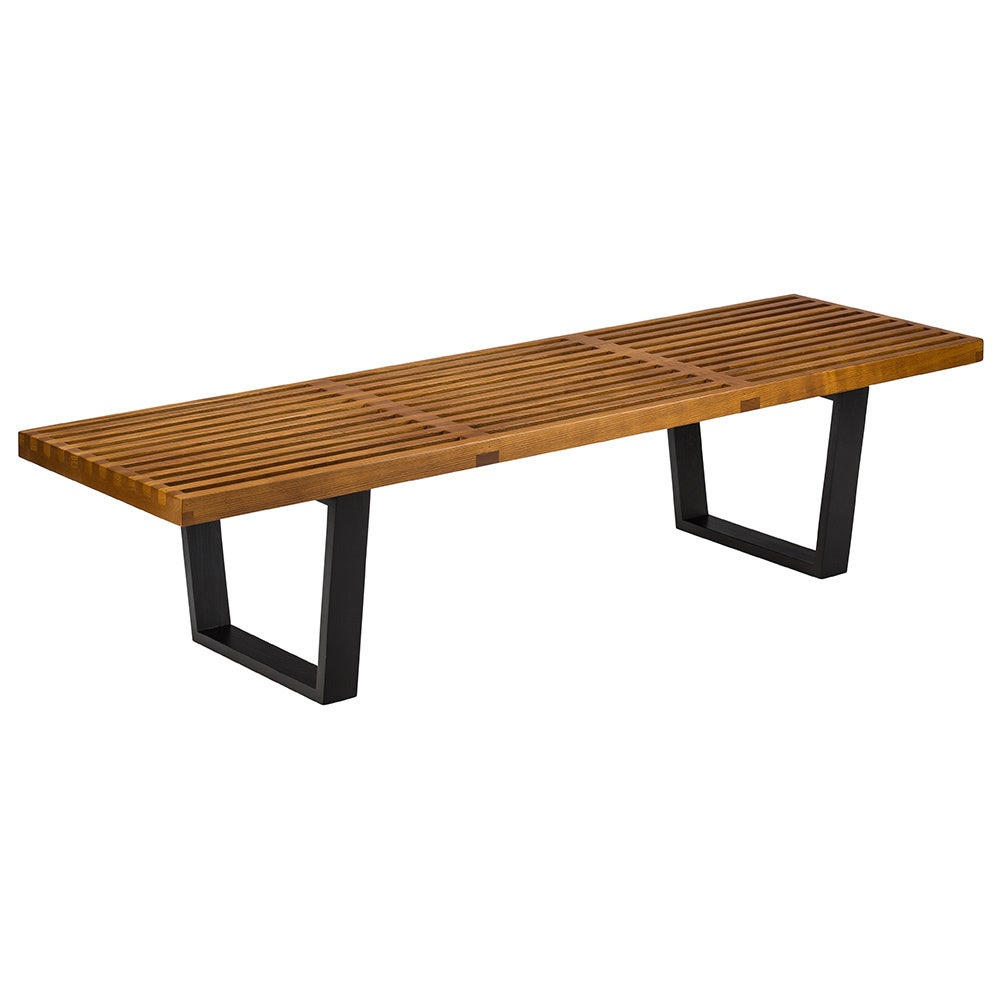 Loft Bench Seat Natural Sage: Shop Poly And Bark Griddle Brown/Black Ash Wood And Metal