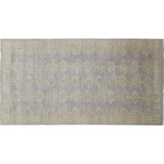 Oushak Javaid Purple Hand-knotted Rug (8'2 x 15'8)