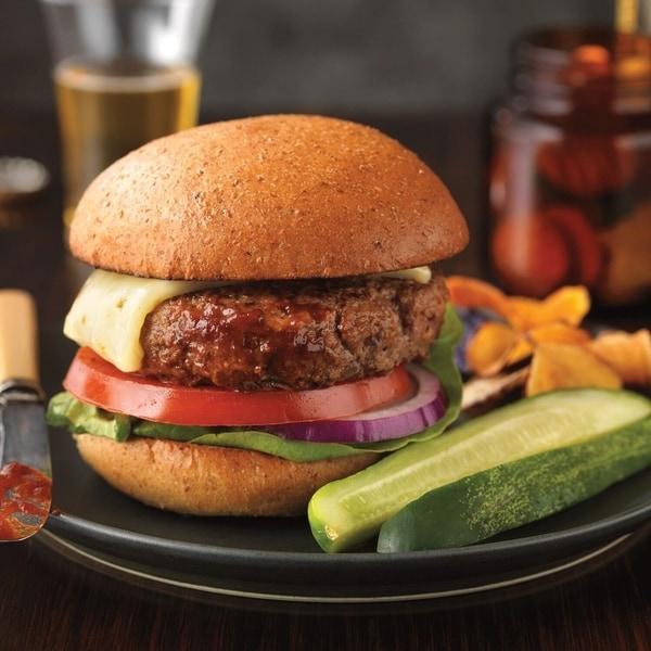 Chicago Steak Company 22 Half Pound Gourmet Angus Steak Burgers. Opens flyout.