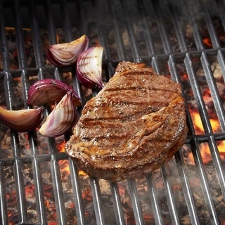 Link to Chicago Steak Company 4 (10-oz) Premium Angus Beef Ribeye Steak Similar Items in Grocery