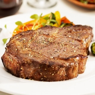 Chicago Steak Company 4 10-ounce USDA Prime Wet Aged Boneless Ribeye Steaks