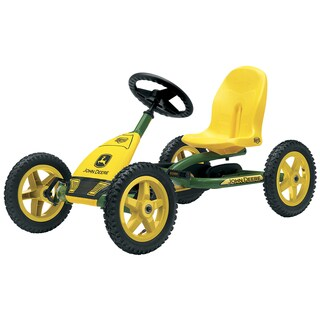 BERG Buddy John Deere Pedal Car (Option: Green)