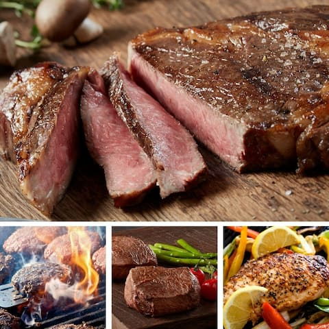 Chicago Steak Company Ultimate Grilling Assortment