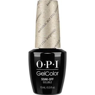 OPI GelColor Nail Polish Baroque but Still Shopping