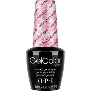 OPI GelColor Nail Lacquer On Pinks and Needles