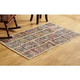 Better Trends Jute Indoor Accent Rug