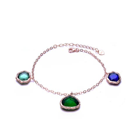 Collette Z Multi-Colored Cubic Zirconia Bracelet