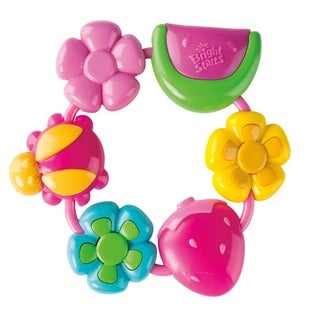 Bright Starts Children's Pretty in Pink Buggie Bites Teether