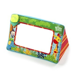 Bright Starts Children's Sit and See Safari Floor Mirror