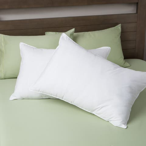 Luxury Down-like Density Pillows Set of 2 by Cozy Classics