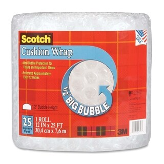 Scotch Bubble Cushion Wrap - 1/RL