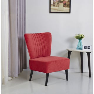 Fontana Red Accent Chair
