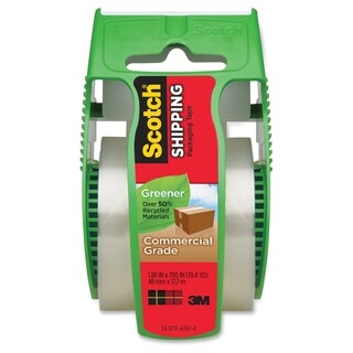 Scotch Greener Commercial-Grade Packaging Tape - 1/RL