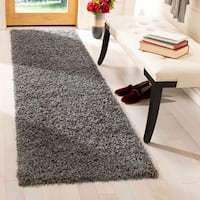 Safavieh Athens Shag Dark Grey Runner (2'3 x 6')
