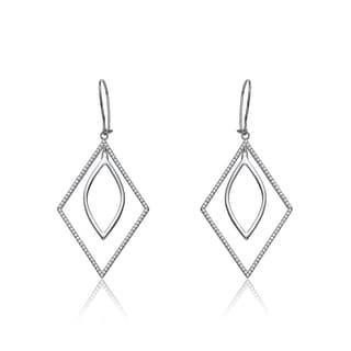 Collette Z Sterling Silver Geometric Shape Earrings