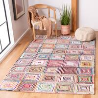 Safavieh Handmade Nantucket Irmgardt Contemporary Cotton Rug