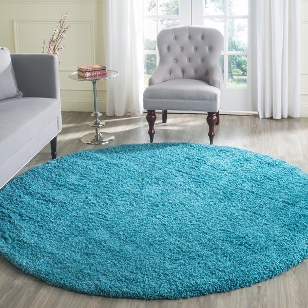Round Turquoise Rug Rugs Ideas