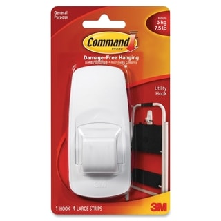 Command Jumbo Hook with Adhesive - 1/PK