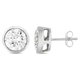 Collette Z Cubic Zirconia Modern Stud Earrings