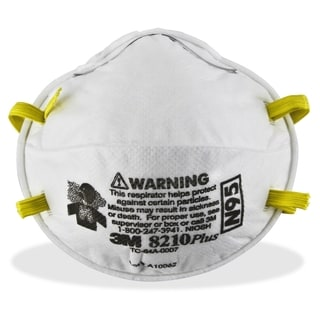 3M 8210PLUS N95 Particulate Respirator - 20/BX