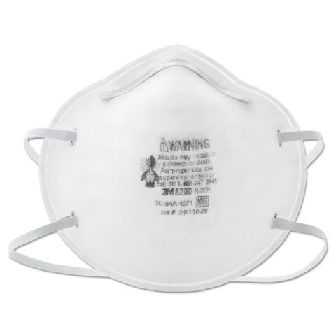 3M N95 Particle Respirator 8200 Mask - 20/BX