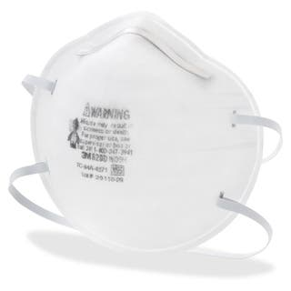 3M N95 Particle Respirator 8200 Mask - 20/BX https://ak1.ostkcdn.com/images/products/10905853/P17938244.jpg?impolicy=medium
