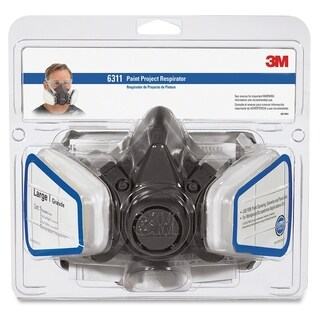 3M Half Facepiece Paint Spray/Pesticide Respirator - 1/PK