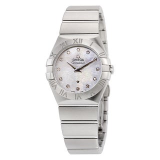Omega Women's 12310276055004 Constellation White MOP Watch