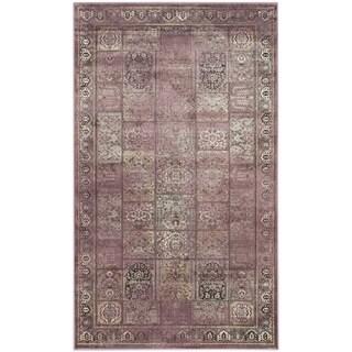 Safavieh Vintage Purple/ Fuchsia Viscose Rug (2'7 x 4')