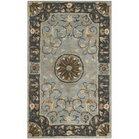 Safavieh Hand-Tufted Empire Blue Wool Rug - 3' x 5'