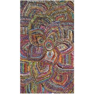 Safavieh Hand-Tufted Nantucket Multi Cotton Rug (3' x 5')