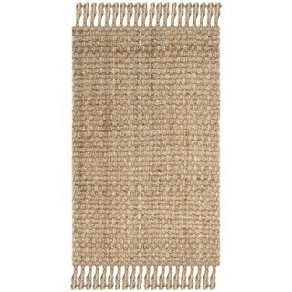 Safavieh Casual Natural Fiber Hand-Woven Natural Jute Rug (2'6 x 4')