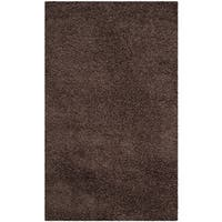 Safavieh Laguna Shag Brown Rug - 3' x 5'
