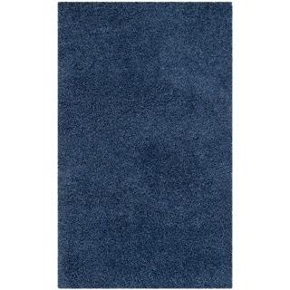 Safavieh Laguna Shag Blue Rug (3' x 5')