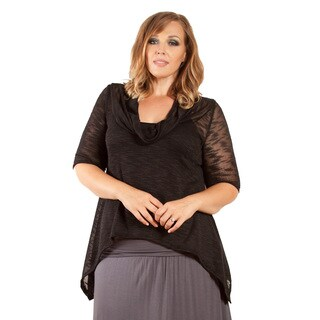 Sealed with a Kiss Women's Plus Size 'Kari' Knit Top (3 options available)