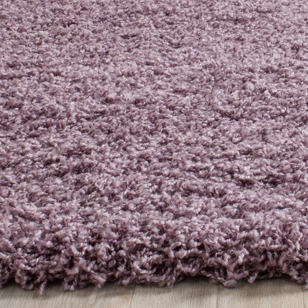 Safavieh Laguna Shag Purple Rug (3' x 5')