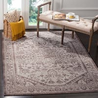 Safavieh Artisan Vintage Beige/ Brown Distressed Area Rug - 4' x 6'