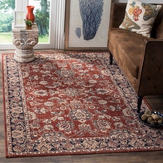 Safavieh Artisan Vintage Rust/ Navy Distressed Area Rug (4' x 6')