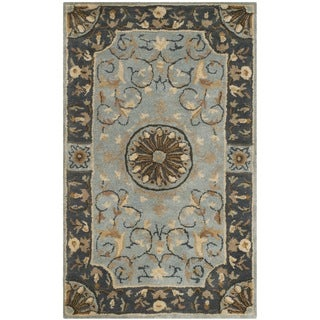 Safavieh Handmade Empire Dani Traditional Oriental Wool Rug (3 x 5 - Blue)