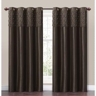 VCNY Roxanne Pintuck Curtain Panel
