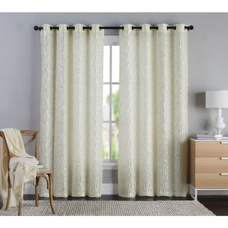 VCNY Annie Coral Grommet Curtain Panel