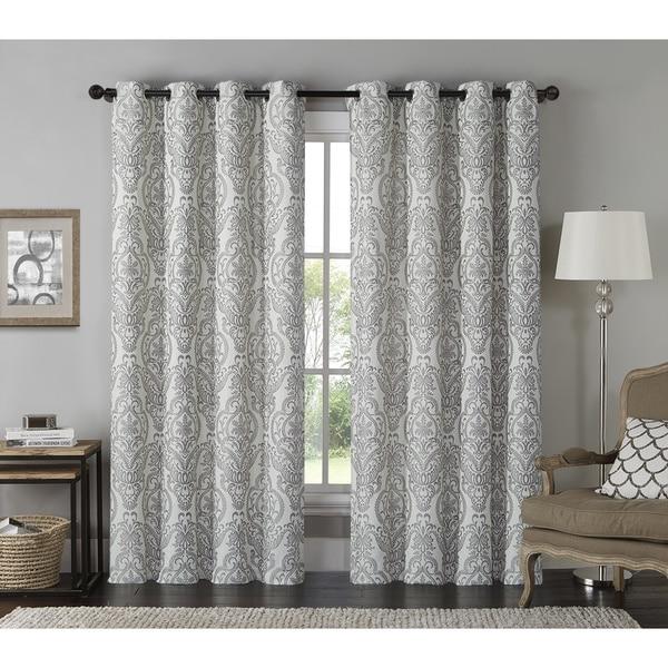 Shop Vcny Longview Grommet Top Curtain Panel Free