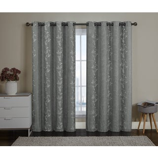 VCNY Edora Grommet-Top Curtain Panel
