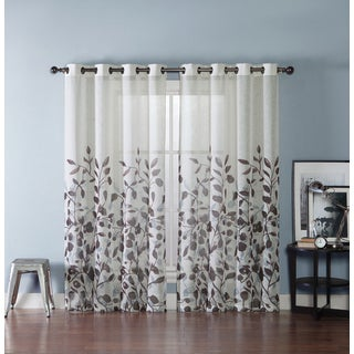 VCNY Brooke Printed Curtain Panel